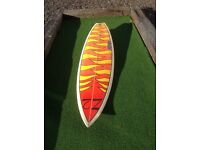 "surfboard 6""4 thruster"
