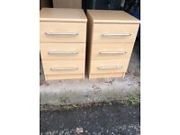 Drawers and bedside cabinets ...