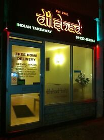 35 YEARS ESTABLISHED INDIAN TAKEAWAY LEASE FOR SAL