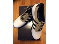 Adidas Junior Golf Shoes,size 5, NEW In BOX