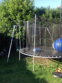 TP A FRAME WITH SWING BOAT,SWING AND TRAPEZE RINGS
