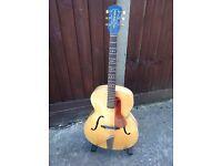 1959 Hofner Senator archtop guitar