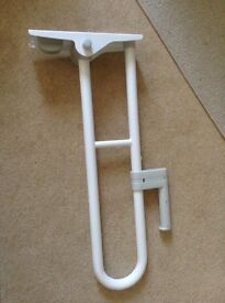 Pair of grab rails for toilet
