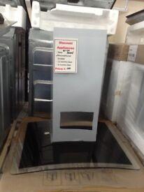 Beko 60cm glass cooker hood. £100 new/graded 12 month Gtee