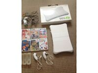 Nintendo Wii in good condition with multiple controllers