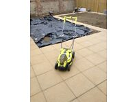 Ryobi battery lawn mower bought in May £299 has 2batteries selling as garden being landscaped