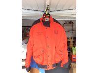Belstaff Cordura waterproof man's bike jacket with built in armour size 40