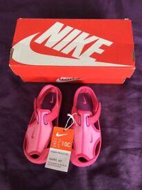BNIB Nike Sandals Size C10