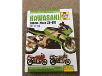 Kawasaki ZX6R Haynes manual