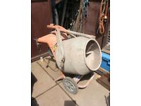 Belle 110v Cement Mixer - drum very good condition