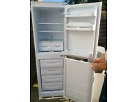 Indesit integrated fridge freezer 50/50 Split. Immaculate condition. 2 years old