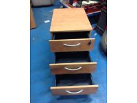Set of drawers to go under office desk