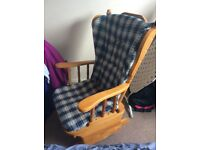 Rocking chair with cover