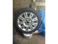 "Ford Focus/cmax 17"" alloy wheel"