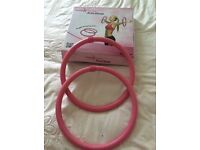Arm Hoops set of 2 as new still in box in box
