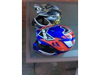 Adults and kids moto cross helmets