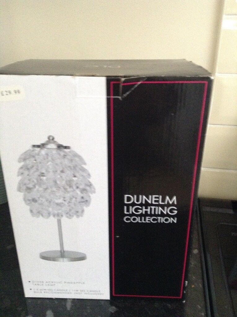 Pair table lamps from dunelm