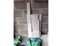 Selection of pieces of plasterboard, and wickes Plasterboard Adhesive