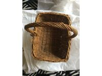 Pretty vintage basket