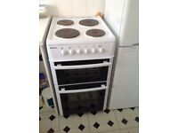 Beko 50cm double oven electric cooker