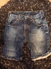 Jean Shorts - Age 4-5 Years