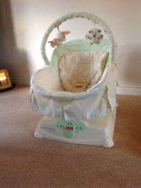 Fisher Price soothing motions glider chair