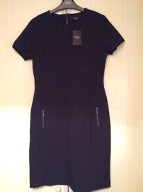 BNWT Ladies Black Tailored Dress Size 8