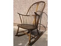Recoil rocking chair