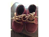 Boys next vintage grade suede boots