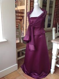 Two piece Bridesmaids/Prom Dress with Sash
