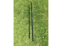 Brand New!!! Middy 4G 2.5mtr 2 piece carbon take-apart landing net handle