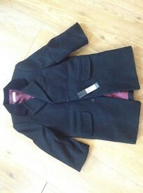 M&S woolen overcoat 2-3 years old new with tag Brand new with tag