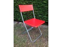 IKEA folding garden chairs