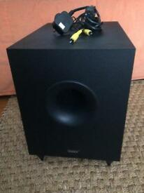Tannoy SFX 5.1 Powered Subwoofer. Faulty. See description.