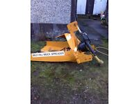 Self fill muck spreader for sale