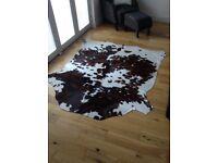 Genuine cowhide rug (ex Gillies B/Ferry)