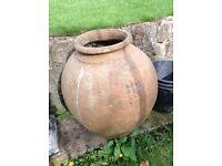 Large ceramic garden ornament