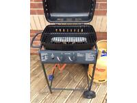 Barbeque and gas bottle almost full