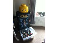 Lego and Lego stand
