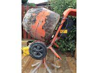 Belle cement mixer 240volt