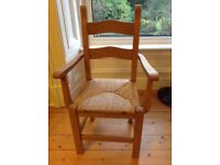 Pine Chair - carver in excellent condition