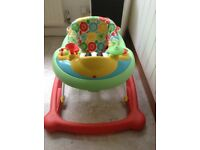 Mothercare baby walker with musical instruments