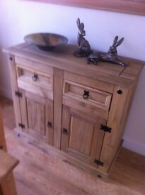 Colonial style sideboard