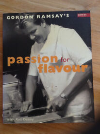 Gordon Ramsay Passion for Flavour cookery book recipes