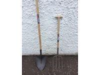 Long tail shovel