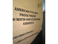 American Kenwood water &Ice dispenser...Ex display