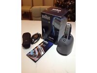Braun Series 5 590cc shaver £35 Excellent condition Boxed Could deliver locally for a small fee