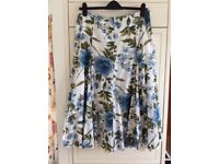 Per Una cotton skirt size 14l, used but very good condition