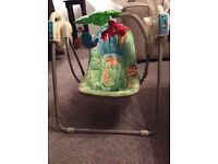 Fisher price baby swing rocker