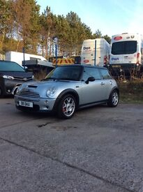 MINI COOPER S VERY LOW MILEAGE FIRST TO SEE WILL BUY.